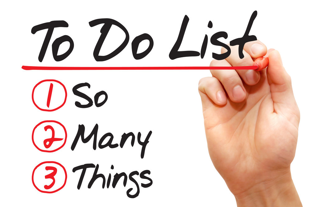 top 3 reasons your to do list does not get done financial planner
